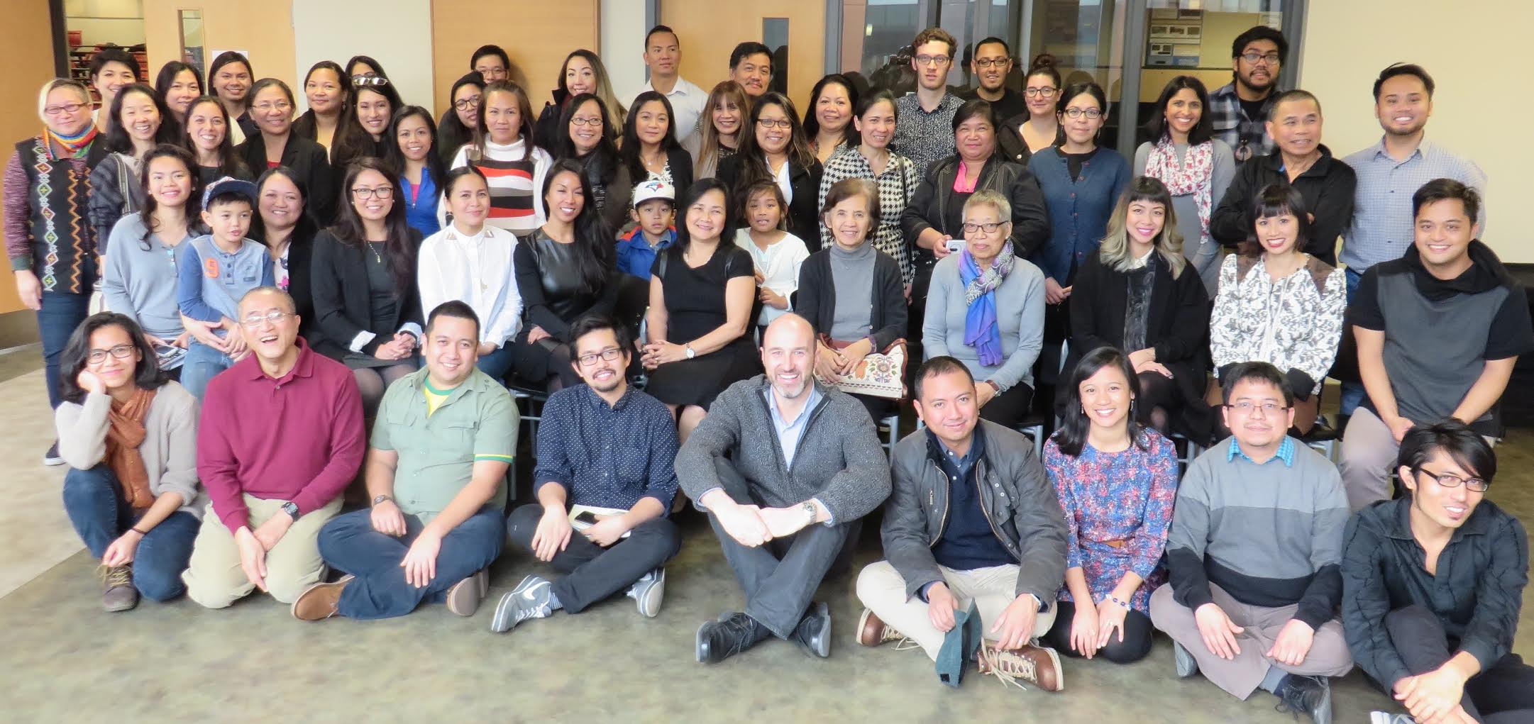 Participants of the Filipino-Canadian Research and Action Summit in Dec 2015